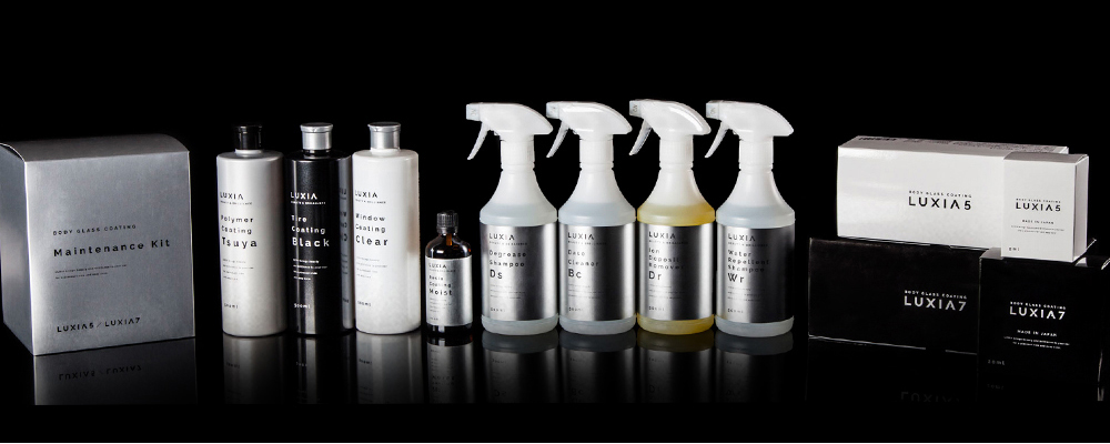 LUXIA PRO GLASS COATING